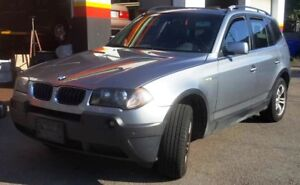2004 BMW X3 3.0i SUV Certified! Leather! Sunroof!