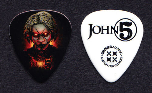 Rob Zombie John 5 Signature Evil Eye Guitar Pick - 2015 Tour - Grover Allman