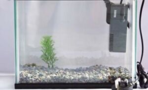 ISO small fish tank with filter
