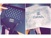 Chanel flip bag
