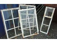 Original vintage crittall window frames