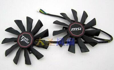 2PCS New MSI MSI R9-290X R9- 280X R9-270X R7-260X GAMING Graphics Fan comprar usado  Enviando para Brazil