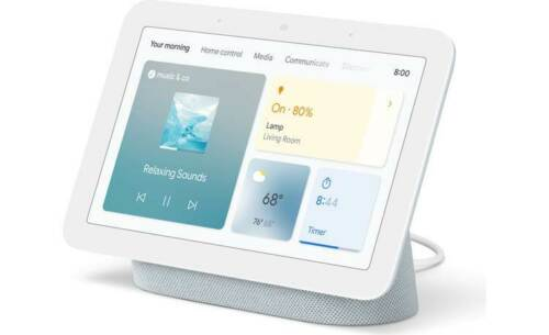 Google Nest Hub (2nd gen) Smart display with Google Assistant voice control
