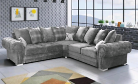 ⚫🥀⚫EXCLUSIVE OFFER AND CASH ON COLLECTION HIGH QUALITY VERONA CORNER SOFA⚫🥀⚫