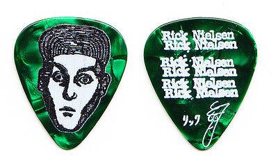 Cheap Trick Rick Nielsen Signature Green Pearl Guitar Pick - 2015 Tour