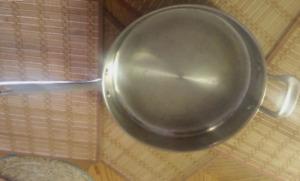 Copper Bottom Stainless Steel Saucepan  - $3