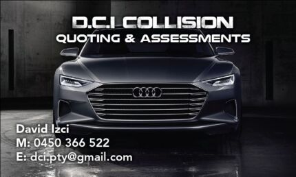 VEHICLE COLLISION ESTIMATOR OR QUOTER Concord Canada Bay Area Preview