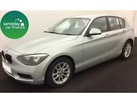 £205.14 PER MONTH SILVER 2012 BMW 116i SE 5 DOOR PETROL MANUAL