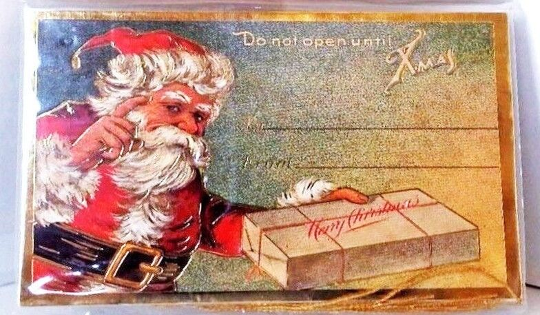 Dont Open Till Christmas.Details About Do Not Open Until Christmas Gift Tag Cards Set Of 6 Mint Sealed B Shackman
