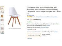 White comfy desk chair