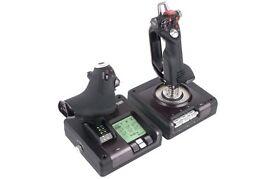 Saitek X52 Pro Joystick and Throttle