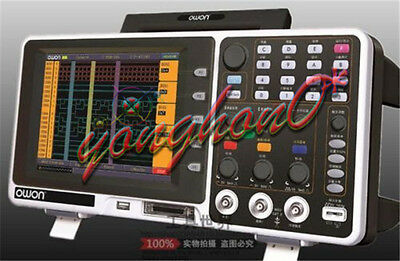 Owon Mso7102t 100mhz Digital Oscilloscope 100mhz 1gss 500mss 7.8 Lcd