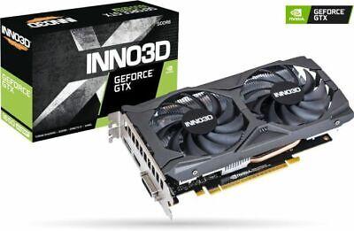 INNO3D GeForce GTX 1650 SUPER Twin X2 OC Grafikkarte - 4GB GDDR6, DVI, HDMI, DP