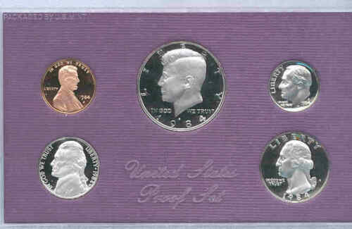 1984-S Gem Proof Set Free Shipping