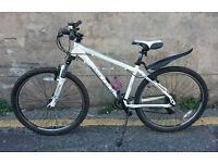 "White CARRERA Valour 26"" Mountain Bike In Excellent Condition"