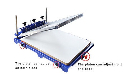 1 Color Screen Printing Press Signboard Diy Printer New Design 20 X 24 Pallet