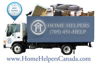 Junk removal & clean up  Call Home Helpers Canada