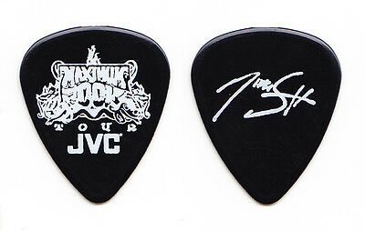 Motley Crue Nikki Sixx Signature Black Guitar Pick - 2000 Maximum Rock Tour