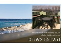 Holiday Caravan (Choice of two) within St Andrews Holiday Park, Kinkell Braes. Book Online.