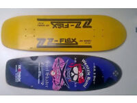 Any skaters fancy swapping a nice guitar for these decks?