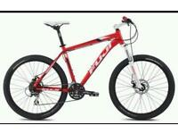 Mountain bike set up