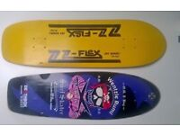 DOGTOWN SKATEBOARD DECKS - Z-Flex and Deathbox
