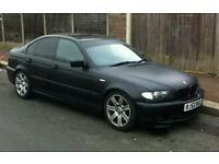 BMW 330 matte black