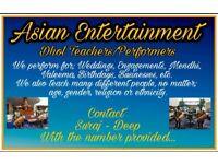 Bhangara Dhol Players and Teachers
