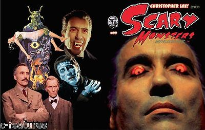 SCARY MONSTERS #99 DRACULA Christopher Lee MANSTER Horror Hosts HALLOWEEN New! - Halloween Scary Monsters