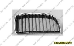 Grille Passenger Side Chrome/Black Wagon BMW 3-Series 2006-2010