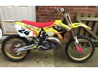 Suzuki rm125 2007 tricked up not kx yz rmz kxf ktm Yzf
