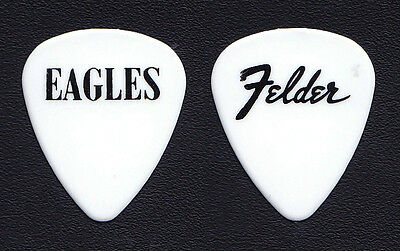 Eagles Don Felder White Guitar Pick - 1994 Hell Freezes Over Tour