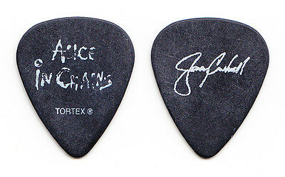 Alice in Chains Jerry Cantrell Signature Black Guitar Pick - 2006 Tour