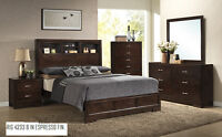 8PCS QUEEN SIZE BEDROOM SET ONLY $999 NO TAX