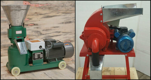 4hp Pellet Mill & 3hp Hammer Mill Electric Combo. Free Shipping! USA In stock!