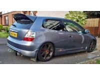 05 cosmic 2.0i v-tec civic type R ep3 hpi clear, low miles