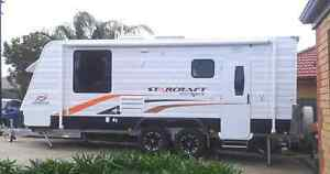 2013Jayco starcraft 21ft outback caraven. Awning plus full annexe Coromandel Valley Morphett Vale Area Preview