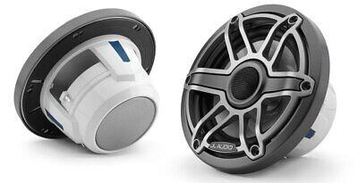 """JL Audio M6-770X 7.7"""" Gunmetal Trim Ring, Titanium Sport Grille"""