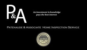 $ 280.00 flat rate Certified Home Inspection & 90 day warranty!