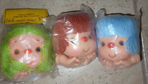 3 NEW doll heads and hands $ 2/each or $ 5 all (for crafts) Kitchener / Waterloo Kitchener Area image 1