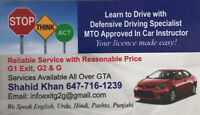 G1 Exit G2 Driving LESSONs