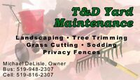 T&D YARD MAINTENANCE-COMMERCIAL-RESIDENTIAL