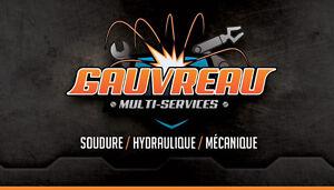 Soudure / Hydraulique / Mécanique