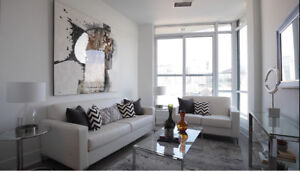 Furnished luxury condo unit  downtown waterfront