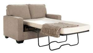 SHELBY LOVESEAT SOFA BED - $1099 NO TAX - FREE LOCAL DELIVERY