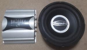 Subwoofer & Amplifier Combo