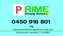 Prime Driving School Blacktown Blacktown Area Preview