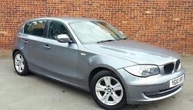 BMW 118 118d SE (grey) 2010