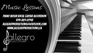 Music Lessons In-Your Home and near Lackner Woods Kitchener / Waterloo Kitchener Area image 1