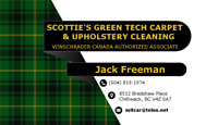 Scotties Carpet & Upholstery Cleaning/ scottiescarpetcleaning.ca